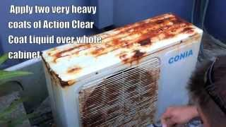 Air Conditioning Rust Protection