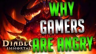 Why Gamers Are So Angry About Diablo Immortal