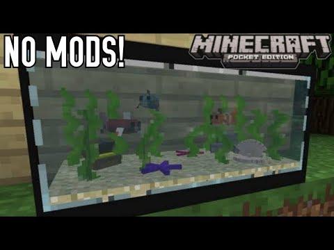 3 Cara Buat Aquarium Keren Di MinecraftPE No Mods