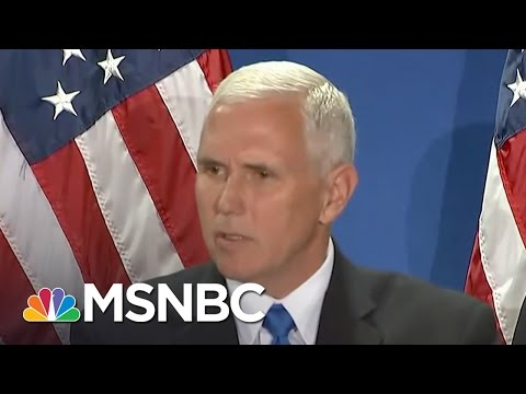 Mike Pence: Hillary Clinton 'Expressed Disdain' For Americans | MSNBC