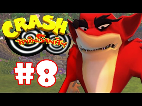 CRASH TWINSANITY #8 - CRASH REVERSO
