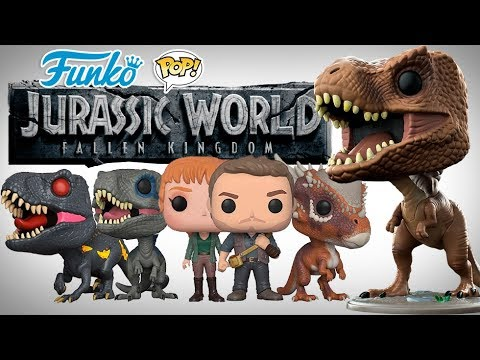 JURASSIC WORLD FALLEN KINDOM  FUNKO POP