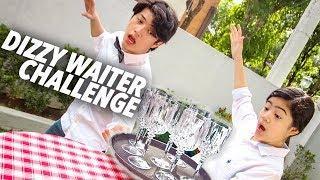 DIZZY WAITER CHALLENGE!! | Ranz and Niana MP3