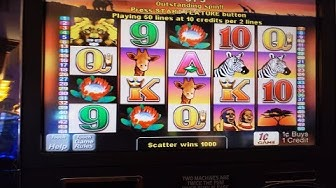 50🦁💎 LIONS SLOT/Classic Game: Pokies with a Great Bonus: $2.50 bet