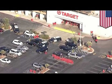Cops getting shot: Sand City Target shootout sees 2 men killed and 2 cops wounded - TomoNews