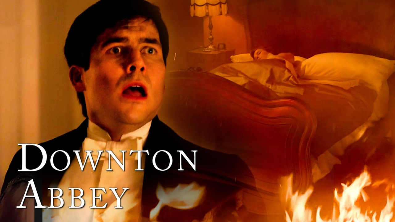 Download Thomas Saves Edith From The Fire | Downton Abbey