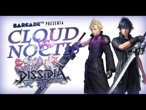 Cloud VS Noctis en Dissidia Final Fantasy NT