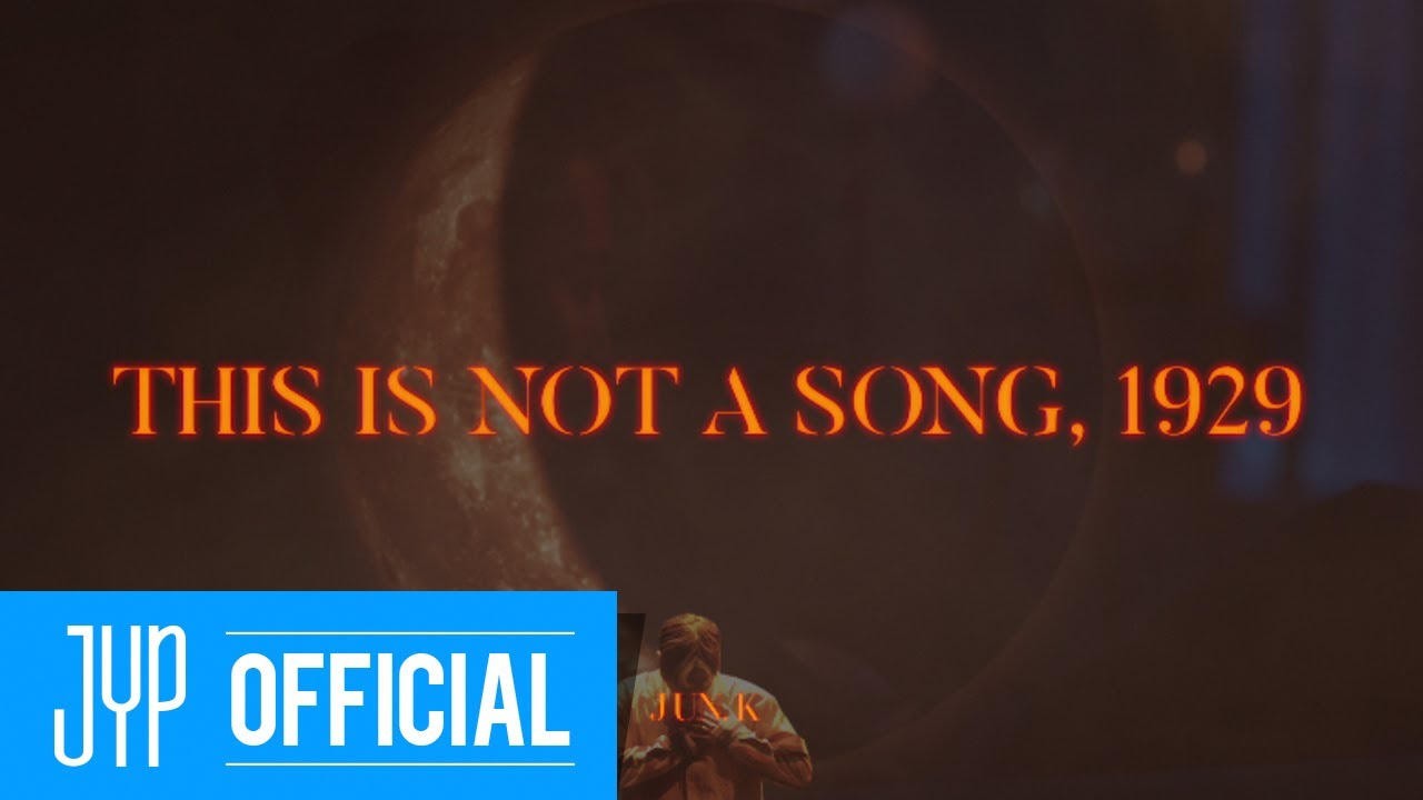 """JUN. K """"THIS IS NOT A SONG, 1929"""