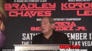Bob Arum on who is keeping Mayweather and Pacquiao from happenning,