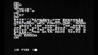 G BASIC on GSD-1988 Nintendo NES Famiclone