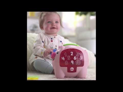 Fisher Price Laugh & Learn Piggy Bank - Smyths Toys