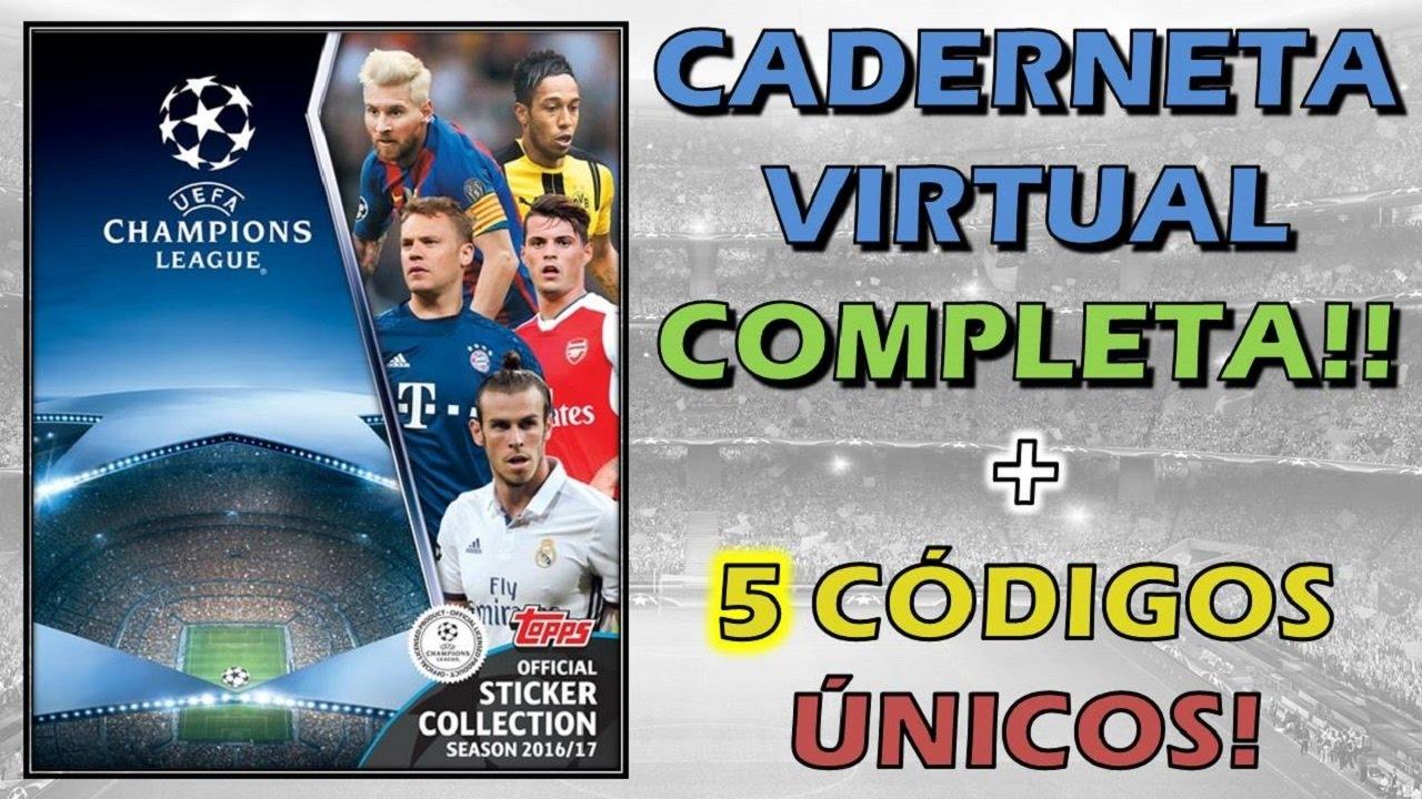 Champions League Virtual Completa 5 Codigos Gratis Youtube