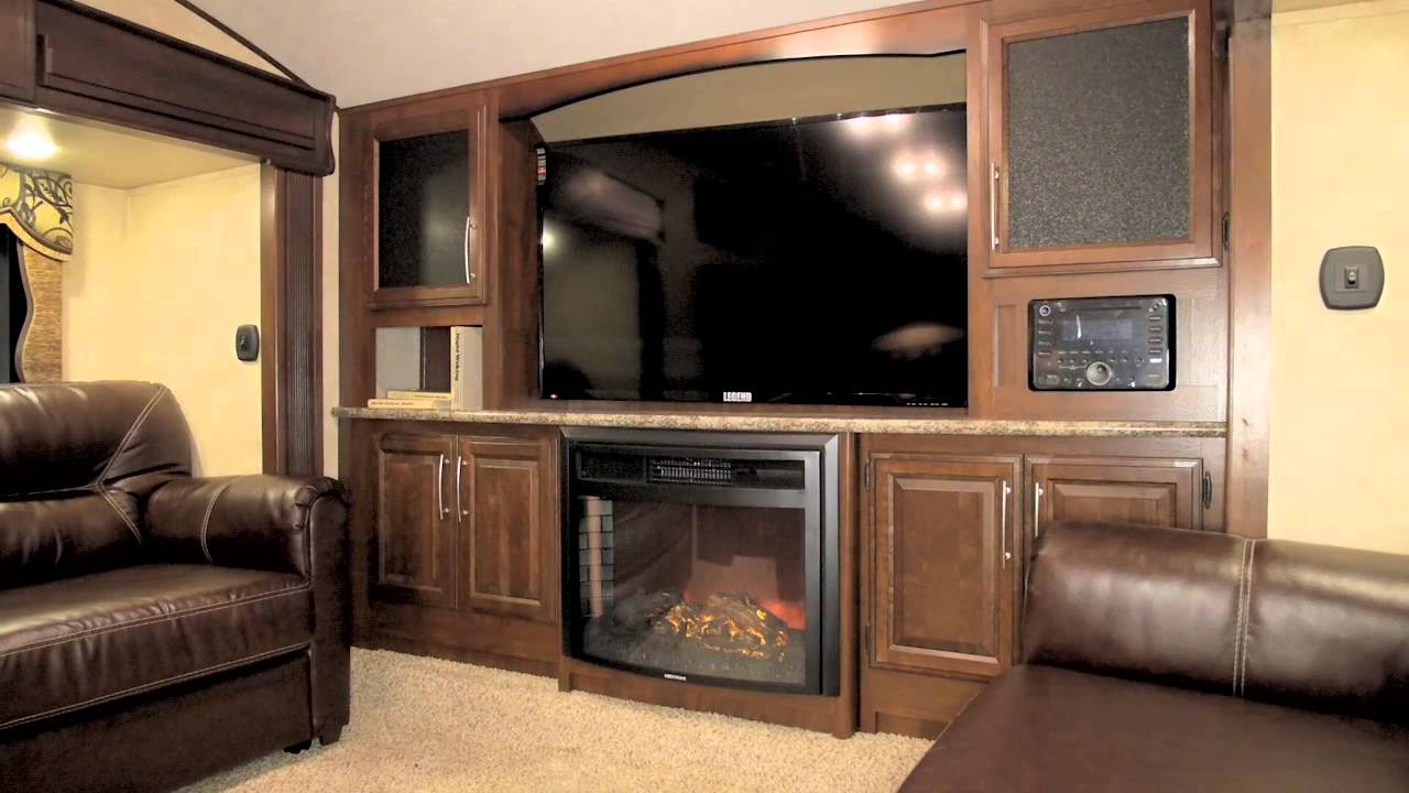 Cougar 337fls front living room floorplan 1 at shows - 2016 luxury front living room 5th wheel ...