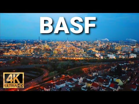 BASF Ludwigshafen - Drone 4K UHD Cinematic Footage
