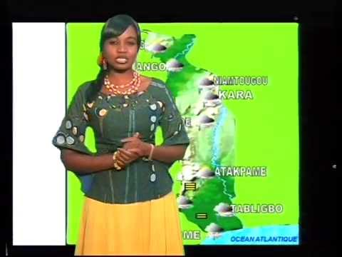 Météo Togo with aknowlegment of DACCIWA (13.07.2016)