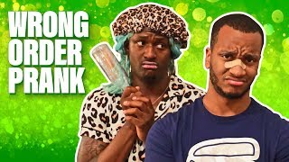 Epic Wrong Order Funny PRANK | Diamond Batiste