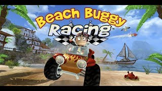 Beach buggy racing game ! race in high hill ice way  ! child racing games ! race 3