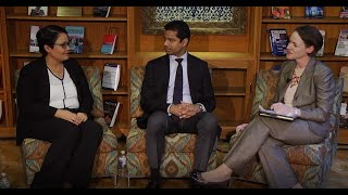 Diverse Diplomacy Leaders series with Ana Escrogima and Raj Wadhwani
