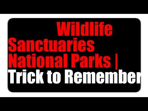 Wildlife Sanctuaries National Parks of Rajasthan | Trick to Remember -12