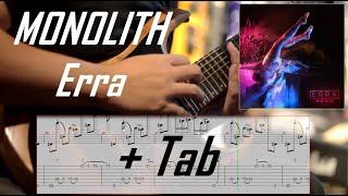 ERRA - Monolith l Guitar Cover + TAB Screen