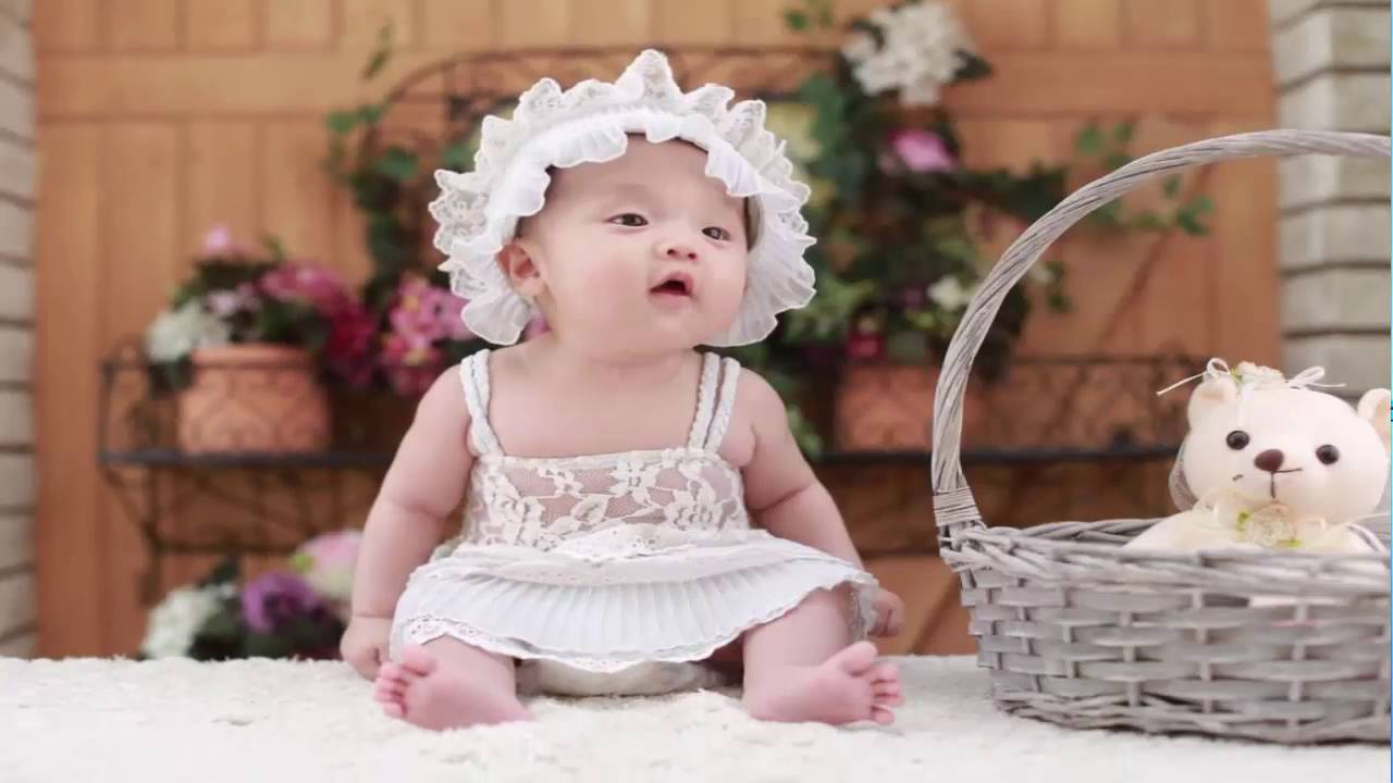 cute baby girl pictures - youtube