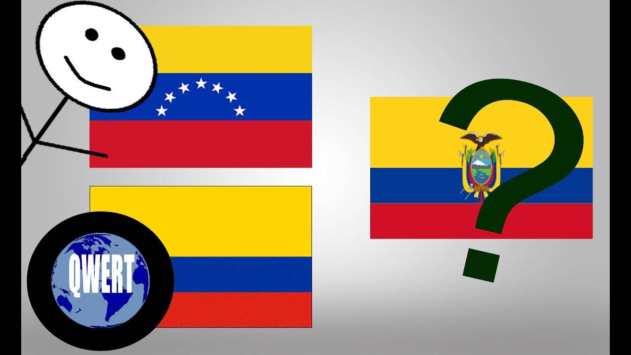 significado de los colores dela bandera de la gran colombia
