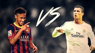Cristiano Ronaldo vs Neymar Jr ● Battle Skills 2016 - CO-OP | HD