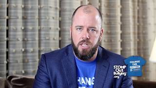 Chris Sullivan BLUE SHIRT DAY® WORLD DAY OF BULLYING PREVENTION™ 2017
