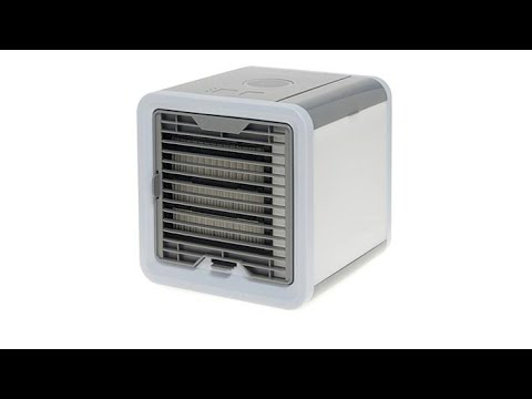 arctic air pro deluxe mist evaporative air cooler youtube. Black Bedroom Furniture Sets. Home Design Ideas