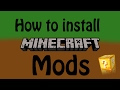 How to install minecraft mods (UPDATED)