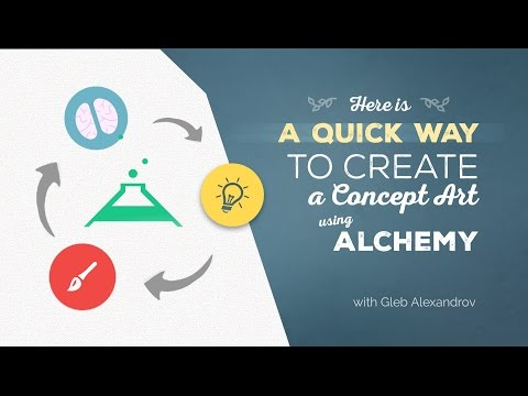 Quick Way To Create A Concept Art Using Alchemy