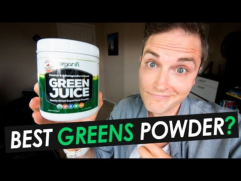 Best Greens Powder? Organifi Green Juice Review