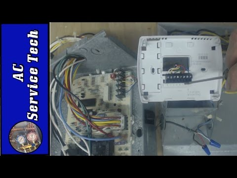 Thermostat Wiring & Replacement- Colors, Terminal Letters, How It Works!