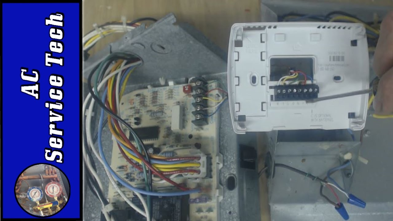 Thermostat Wiring & Replacement Colors, Terminal Letters, How it Works!  YouTube