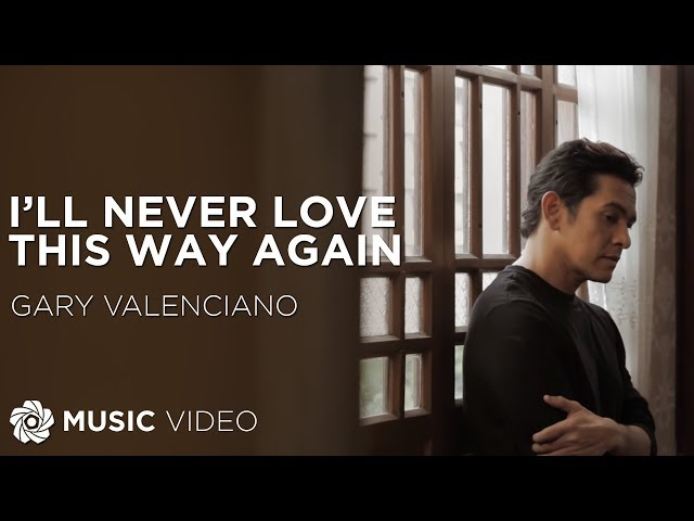 Gary Valenciano - Barcelona: A Love Untold | I'll Never Love This Way Again (Official Music Video)