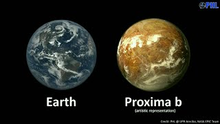 2016 - Intl' - Habitable Proxima-b Planet Found Next Door to Milky Way - 24/8/16