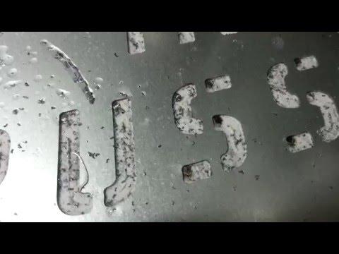 Резка оцинковки 0,3 мм ЧПУ лазером CO₂ Reci 180Wиз YouTube · Длительность: 2 мин