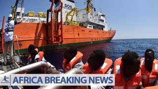 BREAKINGNEWS : African Migrants Safely Arrive in Spanish Port