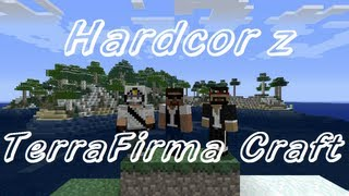 Minecraft - Hardcor z TerraFirma Craft #01 - Pierwsze kroki