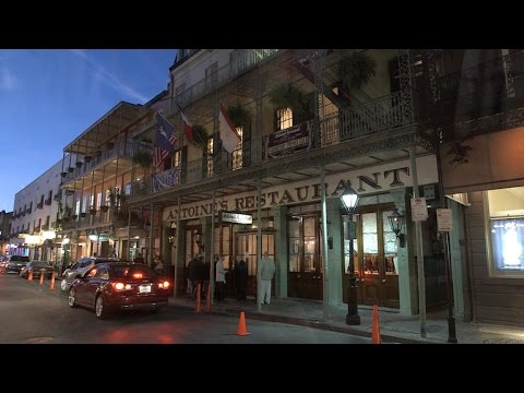 A Visit To Antoine's Of New Orleans