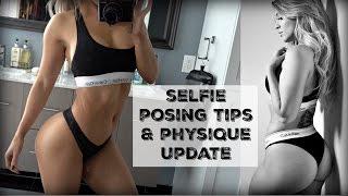Selfie Posing Tips | Physique Update | Full Strength Training Leg Day