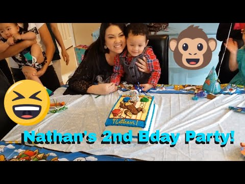 Nathan's Best Birthday Party! Awesome Party!