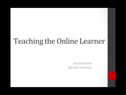 Teaching the Online Learner