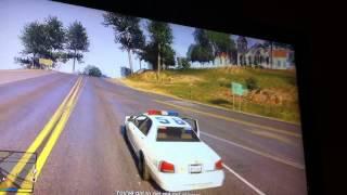 GTA V police light without siren