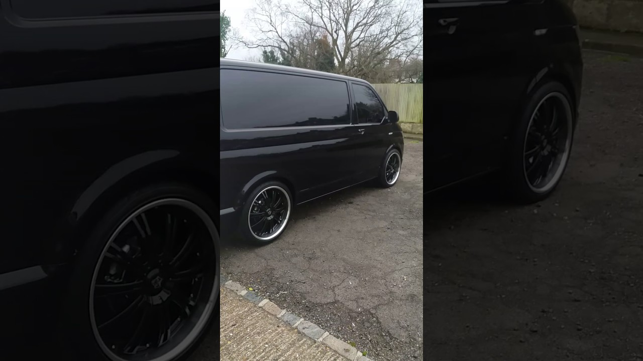 My pimped up vw transporter t6 on 22 alloy wheels youtube my pimped up vw transporter t6 on 22 alloy wheels publicscrutiny Images