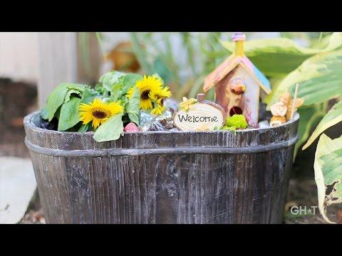 Good Housekeeping Magical Fairy Garden Youtube