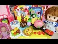 Baby doll and kitchen food cooking toys Baby Doli play