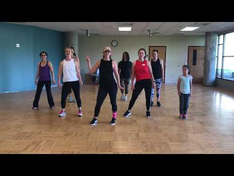 Hey DJ (Remix)- CNCO, Meghan Trainor, Sean Paul ~ Dance Fit With Jess