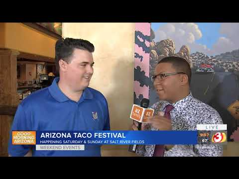 VIDEO: 9th Annual Arizona Taco Fest this weekend in Scottsdale