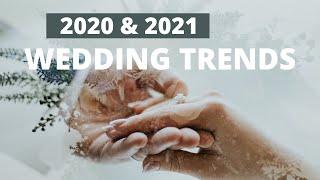 Top Wedding Trends for 2021 & 2022 | Pink Book Weddings